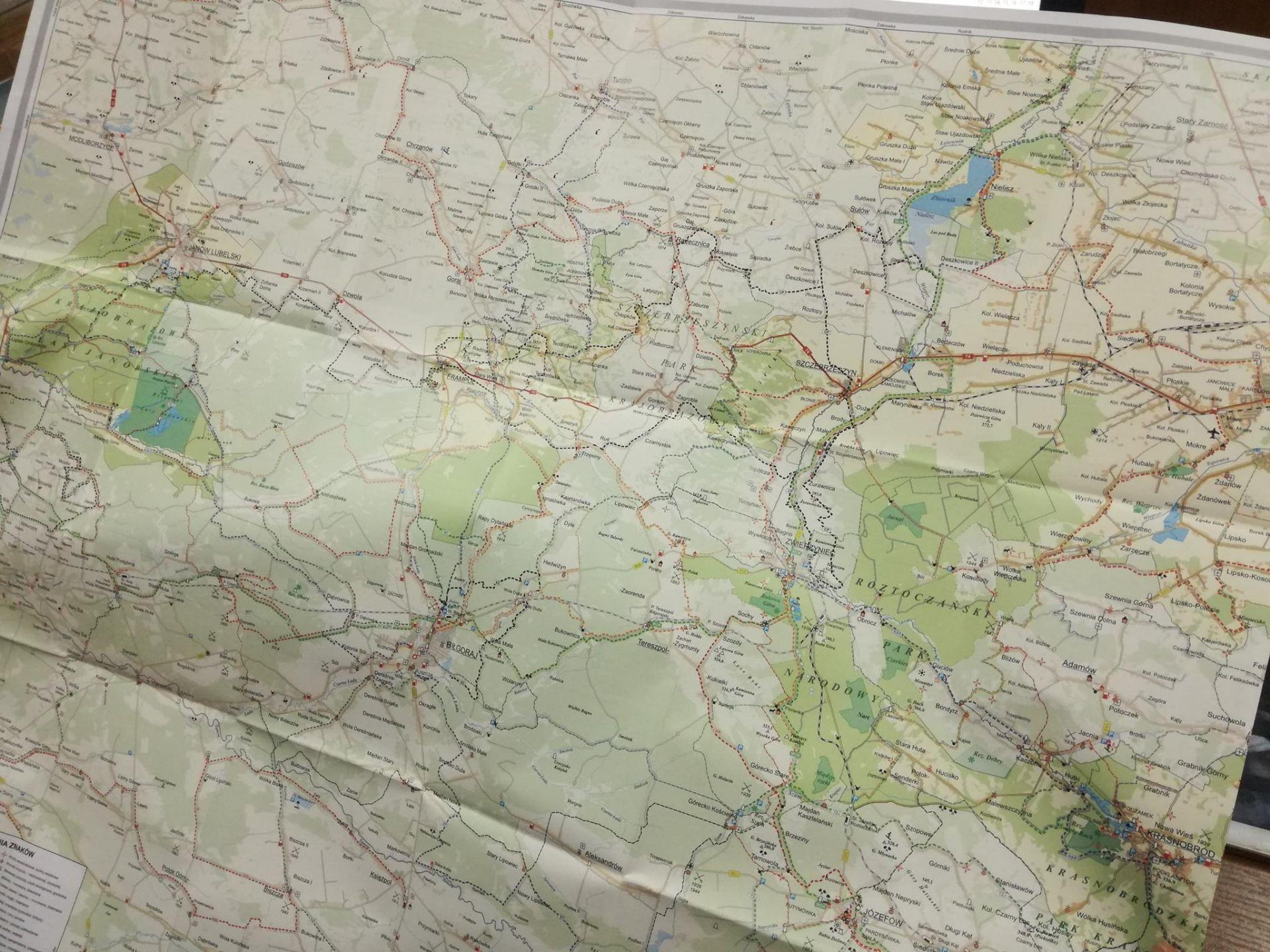 Zamosc I Roztocze Green Velo Nowa Mapa Dla Rowerzystow Wideo